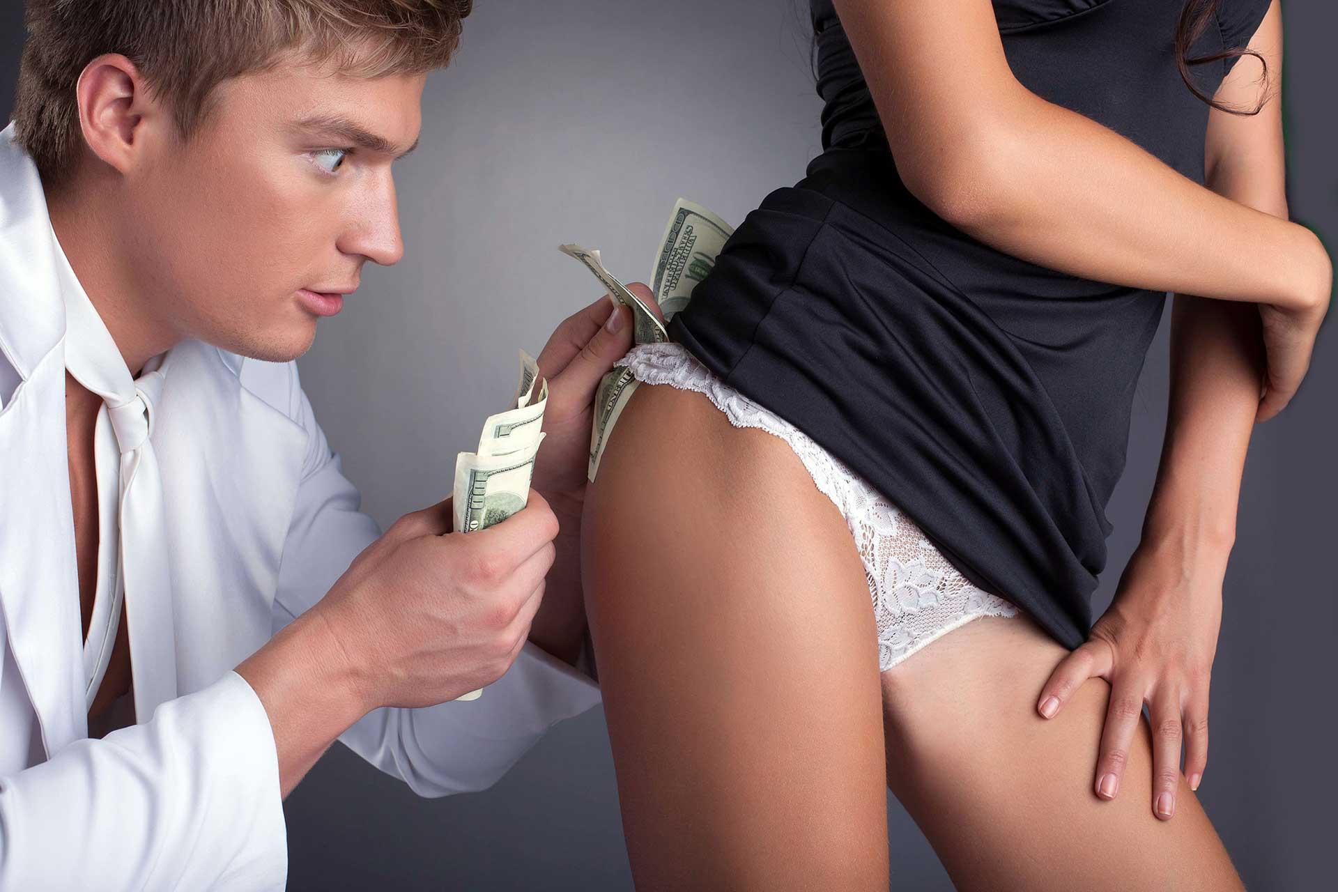 Stripper of striptease huren